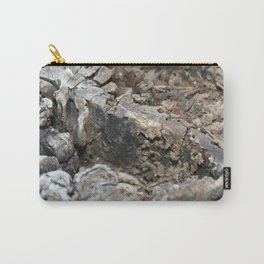Textured Tree Stump Of Eucalyptus Tree  Carry-All Pouch
