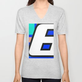 Number POP-6 Unisex V-Neck