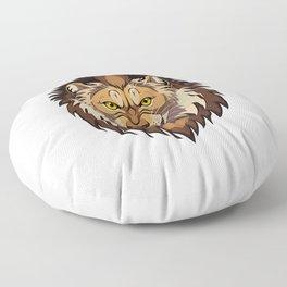 Lion's head Floor Pillow