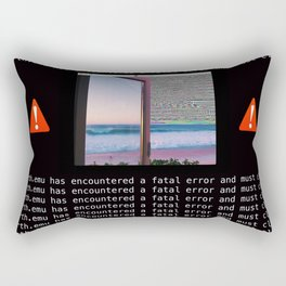 Fatal Simulation Error Rectangular Pillow