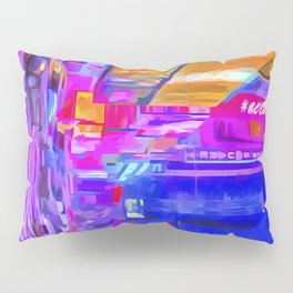 Times Square Pop Art Pillow Sham