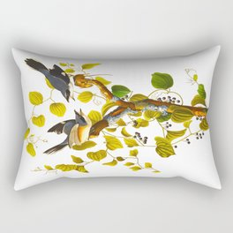 Loggerhead Shrike Bird Rectangular Pillow