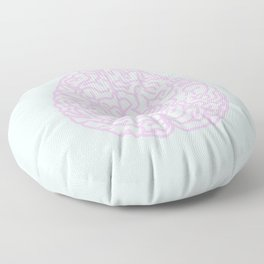 Pastel Brain Floor Pillow