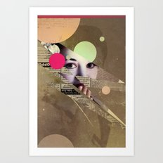 Year of the Geisha Art Print