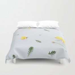 Daisies Are the Friendliest Flowers Duvet Cover