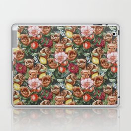 Botanical and Pugs Laptop & iPad Skin