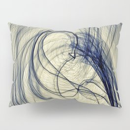 A Web for a Blanket Pillow Sham