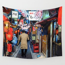 A Memory of Spring Wall Tapestry