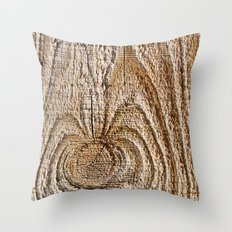 Feeling Knotty Throw Pillow