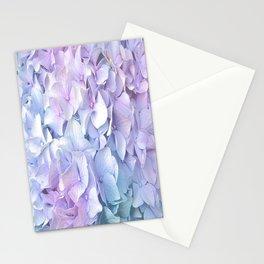 Soft Pastel Hydrangea Stationery Cards