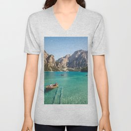 Mountain Adventures Unisex V-Neck