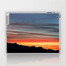 Alpine Sunset Laptop & iPad Skin