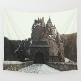 Finally, a Castle - landscape photography Wall Tapestry