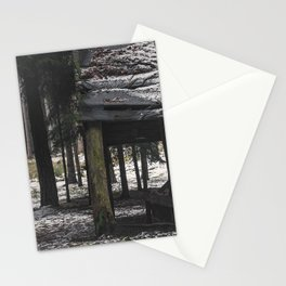 Gloomy forest Stationery Cards