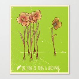 The Perks Of Being A Wallflower - Movie Poster Canvas Print