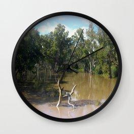 Dead trees Scuplture Wall Clock