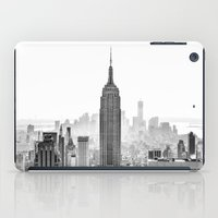 buildings iPad Cases featuring New York City by Studio Laura Campanella