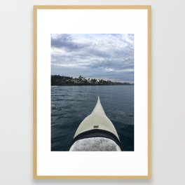 FRONT ROW SEAT Framed Art Print