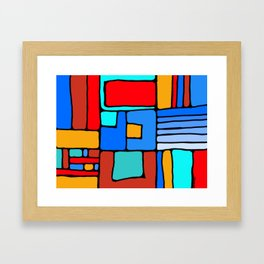 Cargo Ship Containers 10 Framed Art Print