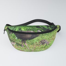 Mother Turkey with Chicks Fanny Pack