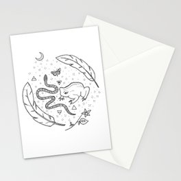 Witchcraft Stationery Cards