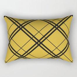 Hufflepuff Argyle Rectangular Pillow