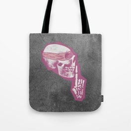 Dead Quiet Tote Bag