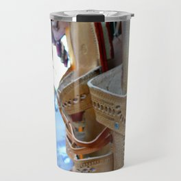 Flea market - Streets of India Travel Mug