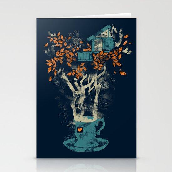 Tea House Stationery Cards