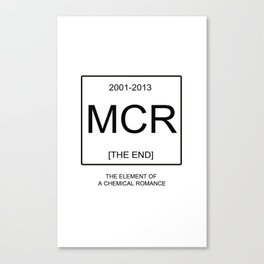 My Chemical Romace Element Canvas Print