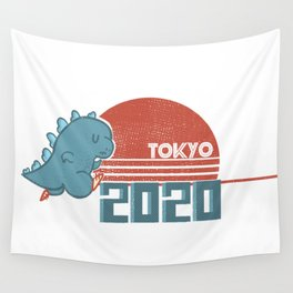 Tokyo 2020 Wall Tapestry