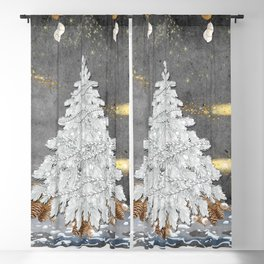 I'm Dreaming of a White Christmas Blackout Curtain