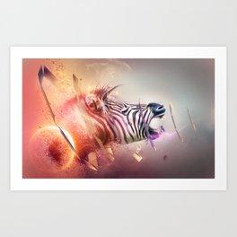 The Transmission Art Print