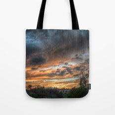 Vista (the sky is source of great beauty) Tote Bag