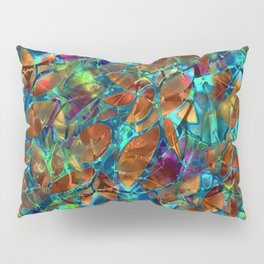 Floral Abstract Stained Glass G290 Pillow Sham