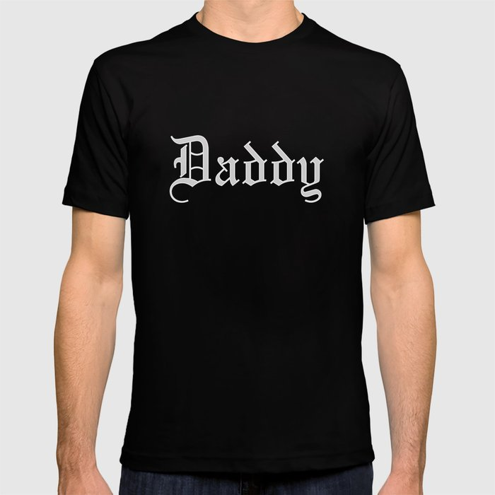 Daddy print | Dom Kinky graphic | Adult Clothing T-shirt