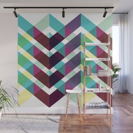 Geometric Pattern 4 (Zig Zag) Wall Mural