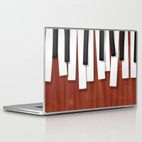 jazz Laptop & iPad Skins featuring Jazz by Rceeh