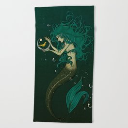 birdbowl Beach Towel