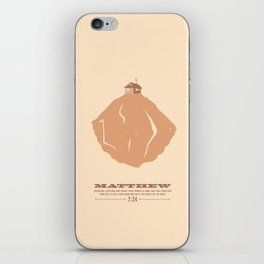 Matthew 7:24 iPhone Skin