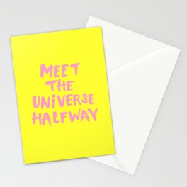 Meet The Universe Halfway Stationery Cards