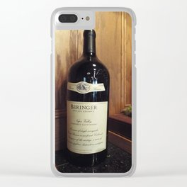 The Biggest Bottle Clear iPhone Case