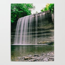 Bridal Veil Falls, Manitoulin Island, Ontario Canada Poster