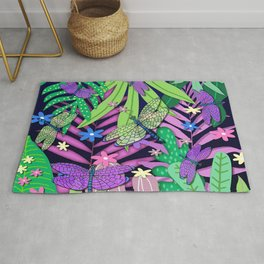 Dragonfly Jungle Rug