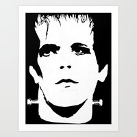 lou reed Art Prints featuring Lou Reed Reanimated  by Spirit Monster
