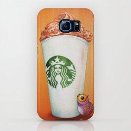 Little Owl loves his Pumpkin Spice Latte iPhone Case