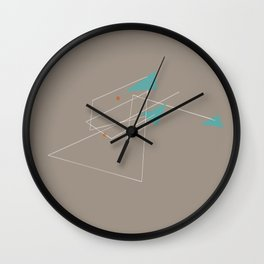 squiggles 3 Wall Clock