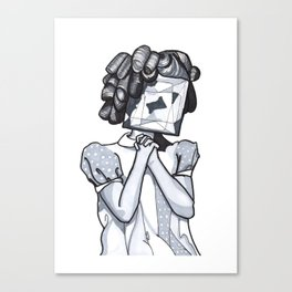 Shirley Temple Canvas Print