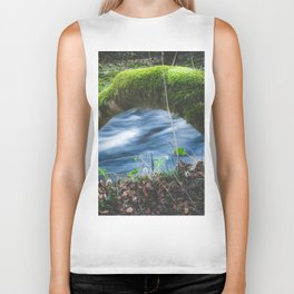 Enchanted magical forest Biker Tank
