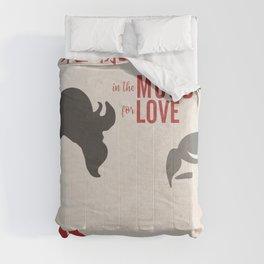 In the mood for love, minimal movie poster, Wong Kar-wai, Tony Leung, Maggie Cheung, Hong Kong film Comforters